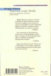 Nouveaux Contes Froids T.25 - 4ème de couverture - Format classique