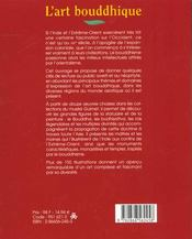 L'Art Bouddhique - 4ème de couverture - Format classique