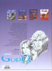 Gord t.2 ; le spit du snack - 4ème de couverture - Format classique