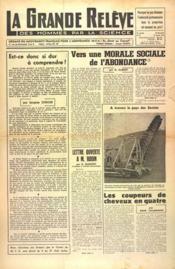 Grande Releve (La) N°91 du 15/07/1951 - Couverture - Format classique