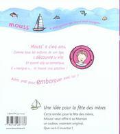 Une Idee Pour La Fete Des Meres - 4ème de couverture - Format classique