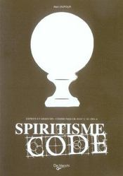 Spiritisme Code - Intérieur - Format classique