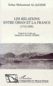 Les relations entre oman et la france - Couverture - Format classique