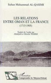 Les relations entre oman et la france - Intérieur - Format classique