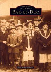 Bar-le-Duc - Couverture - Format classique