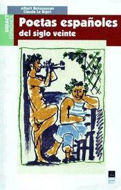 Poetas espanoles del siglo veinte - Couverture - Format classique