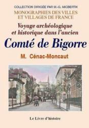 Bigorre (Le Comte De) - Couverture - Format classique