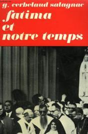 Fatima Et Notre Temps. - Couverture - Format classique
