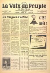 Voix Du Peuple De Touraine (La) N°1378 du 24/12/1967 - Couverture - Format classique