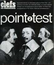 Clefs Des Connaissances - Point Test - N°2 - Couverture - Format classique