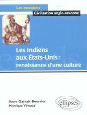 Les Indiens Aux Etats-Unis Renaissance D'Une Culture - Intérieur - Format classique