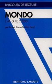 Mondo, de Jean Marie Gustave Le Clézio - Couverture - Format classique