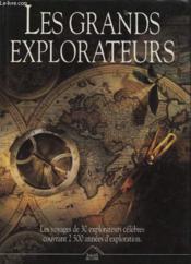 Les Grands Explorateurs - Couverture - Format classique