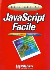Guidexpress Du Javascript Facile - Intérieur - Format classique