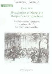 Hyacinthe et Narcisse Roquebère enquêtent t.2 - Intérieur - Format classique