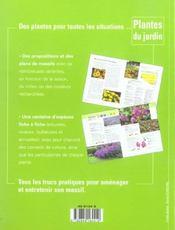 Plantes De Massifs - 4ème de couverture - Format classique