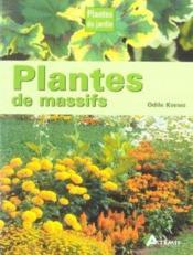 Plantes De Massifs - Couverture - Format classique