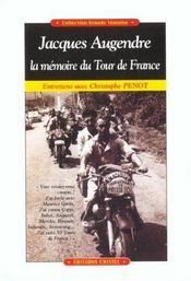 Jacques augendre, la memoire du tour de france - Intérieur - Format classique