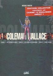 Coleman Wallace ; coffret t.1 à t.3 - Intérieur - Format classique