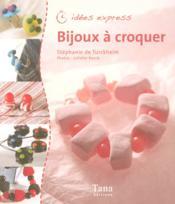 Bijoux à croquer - Couverture - Format classique