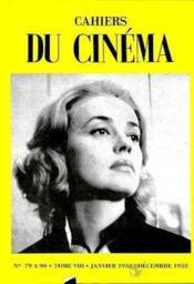 Cahiers Du Cinema T8 - Couverture - Format classique