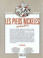 Les pieds nickelés ; intégrale t.28 - 4ème de couverture - Format classique