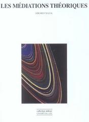 Mediations Theoriques - Intérieur - Format classique