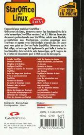 Staroffice - 4ème de couverture - Format classique