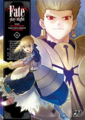 Fate stay night t.15 - Couverture - Format classique