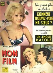 Mon Film N° 733 - Comment Trouvez-Vous Ma Soeur ? - Couverture - Format classique