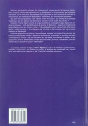 Compagnonnage (Le) - 4ème de couverture - Format classique