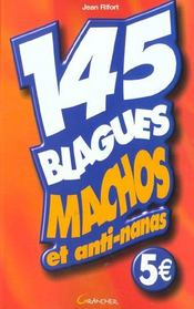145 blagues macho et anti-nanas - Intérieur - Format classique