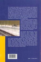 Infrastructures ; Villes Et Territoires - 4ème de couverture - Format classique