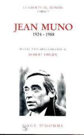 Jean Muno 1924 1988 - Couverture - Format classique