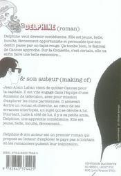 Delphine & Son Auteur - 4ème de couverture - Format classique