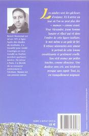 Maman - 4ème de couverture - Format classique