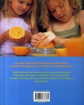 Super jus pour enfants en super forme - 4ème de couverture - Format classique