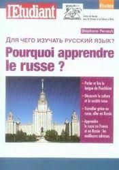 Pourquoi apprendre le russe - Intérieur - Format classique