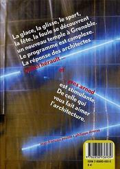 Patinoire pôle sud agglomération de Grenoble - 4ème de couverture - Format classique