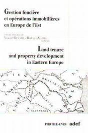 Gestion Fonciere Et Operations Immobilieres Europe De L Est - Couverture - Format classique