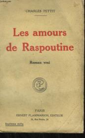 Les Amours De Raspoutine. - Couverture - Format classique