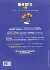 CM2 ; banque d'exercices progressifs ; fiches à photocopier - 4ème de couverture - Format classique