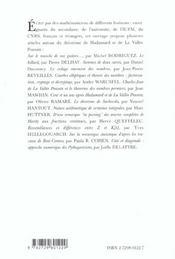 Les Nombres Problemes Anciens Et Actuels - 4ème de couverture - Format classique