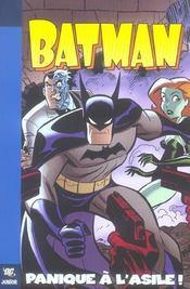 Batman t.1 ; panique à l'asile - Intérieur - Format classique