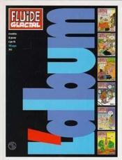 Fluide glacial t.1 ; reliure 1er semestre 1996 - Couverture - Format classique