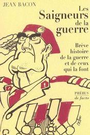 Les Saigneurs De La Guerre - Intérieur - Format classique