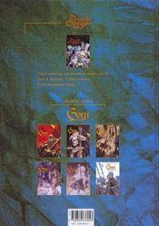 Damoiselle Gorge t.1 ; la forêt qui dansait - 4ème de couverture - Format classique