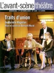 Vente livre :  Traits d'union  - Murielle Magellan