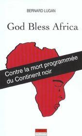 God Bless Africa - Intérieur - Format classique