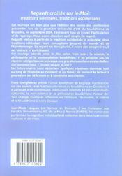 Regards Croises Sur Le Moi - 4ème de couverture - Format classique